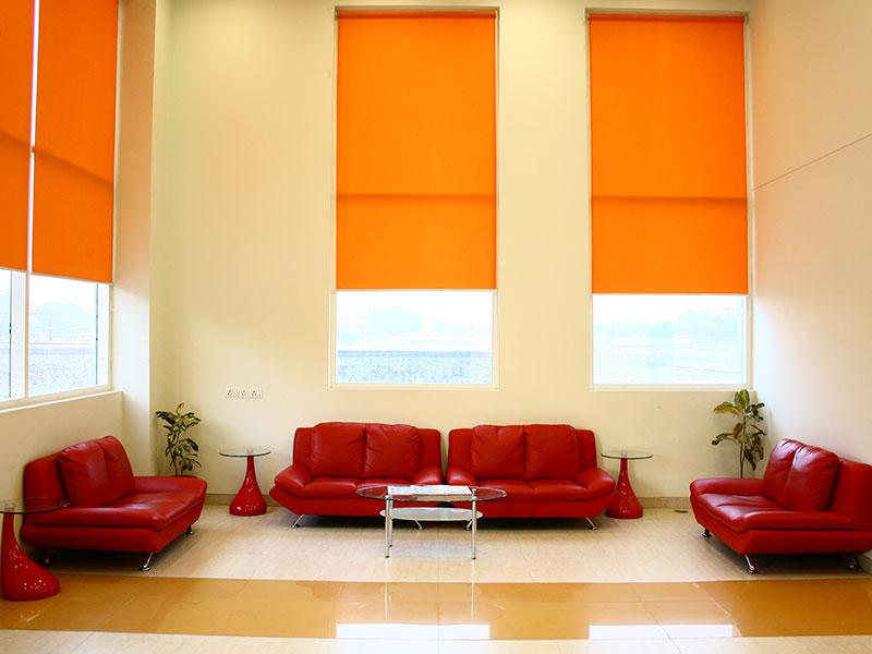 Lobby at Ginger East Delhi