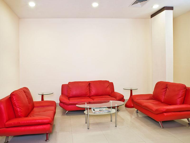 Lobby of Ginger Jamshedpur