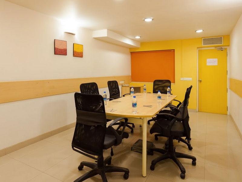 Meeting Room at Ginger Baroda