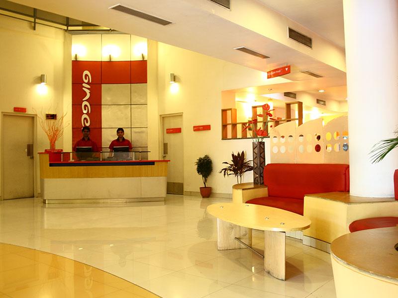 Reception at Ginger Pune Pimpri