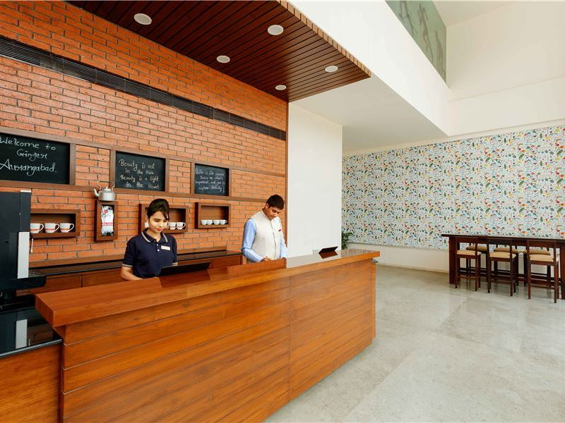 Hotel Reception Counter in Ginger Aurangabad