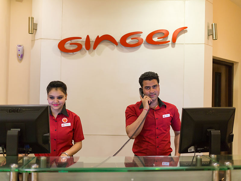 Reception Inquiry at Ginger Noida Sector 63