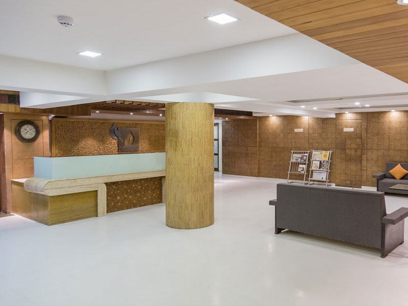 Reception of Ginger Ahmedabad (SG Road)