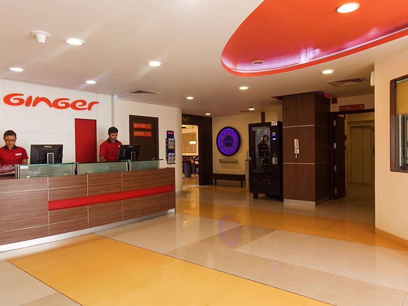 Reception of Ginger Bangalore IRR