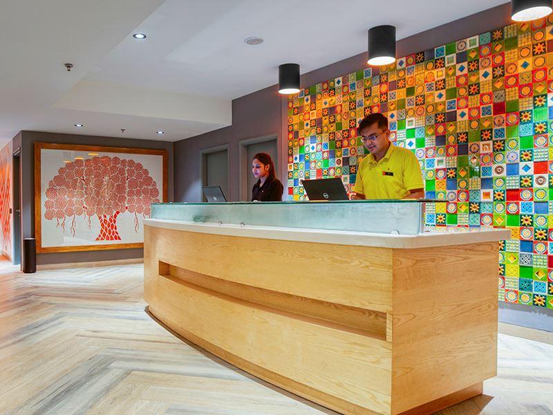 Ginger Noida City Centre Reception