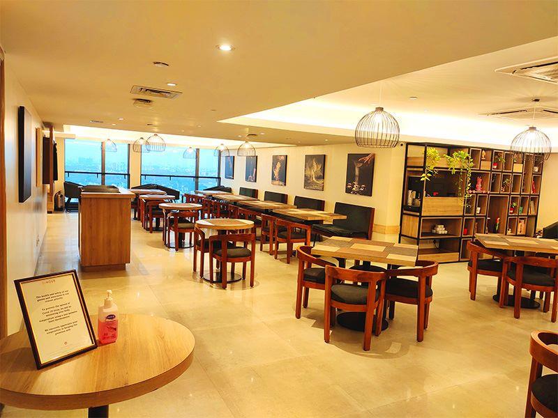 Restaurant at Ginger Chennai (Tharamani, IITM)