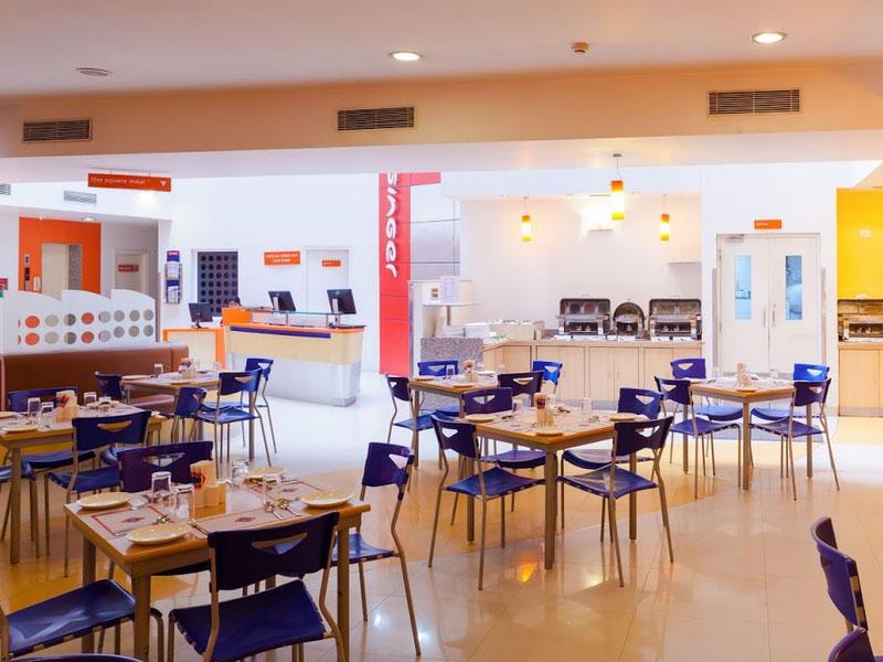 Restaurant at Ginger Baroda