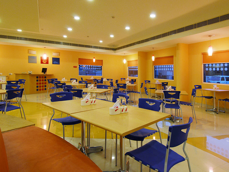 Restaurant at Ginger Bhubaneshwar