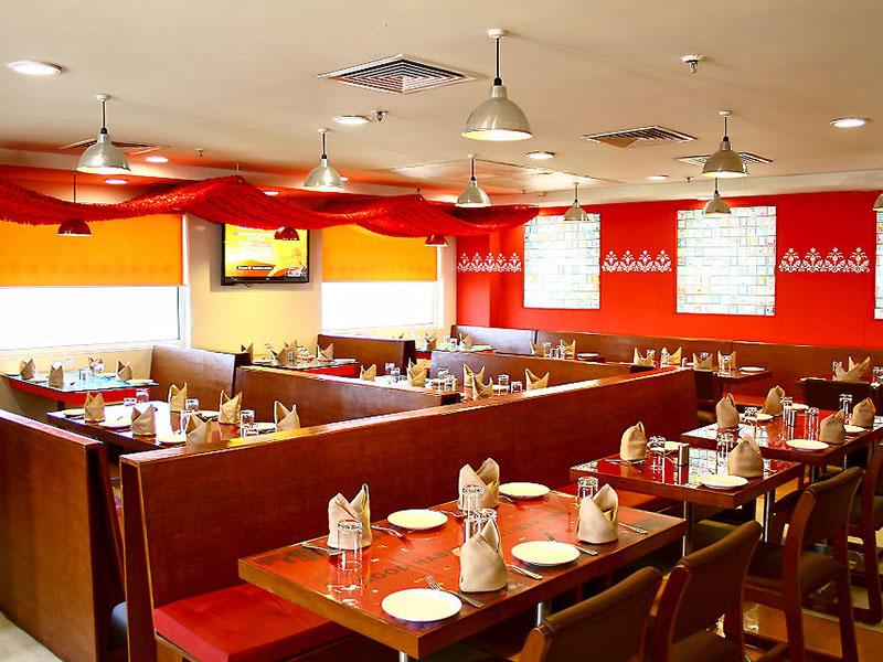 Restaurant at Ginger East Delhi