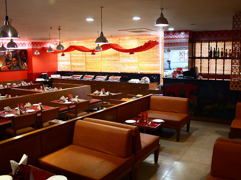 Restaurant at Ginger Manesar