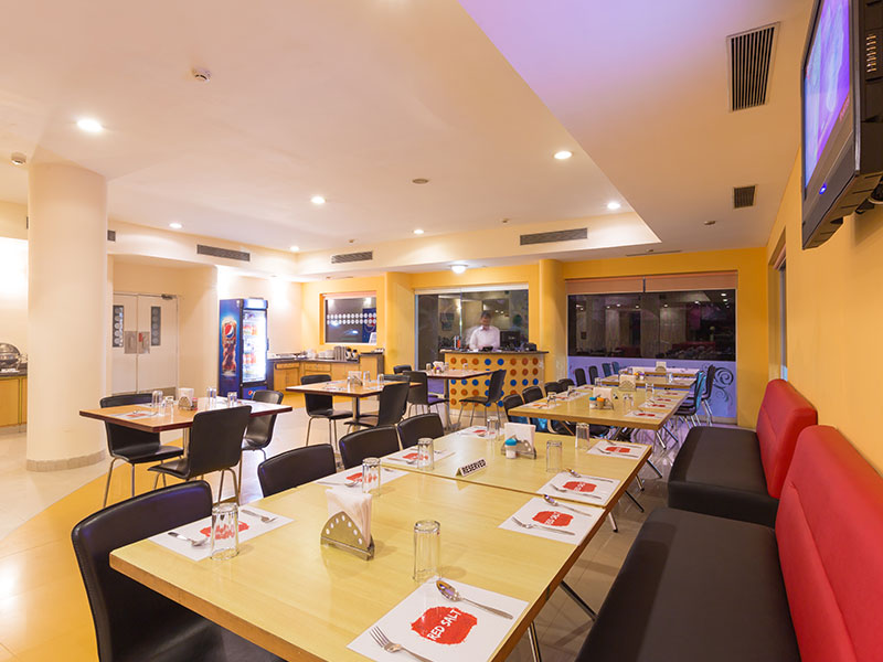 Restaurant at Ginger Mangalore