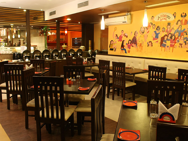 Restaurant at Ginger Pantnagar