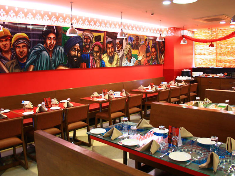 Restaurant in Ginger Manesar