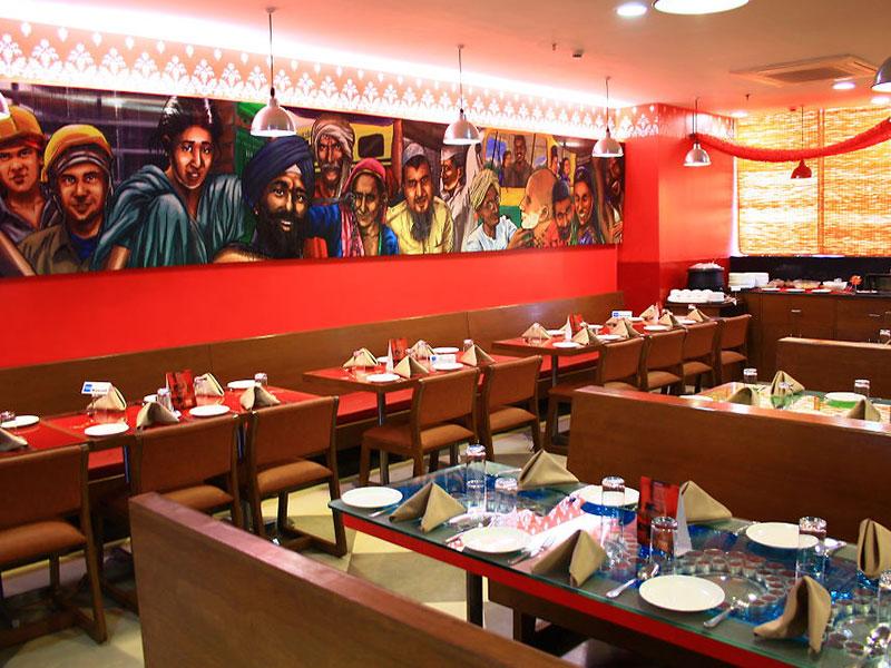 Restaurant in Ginger Manesar