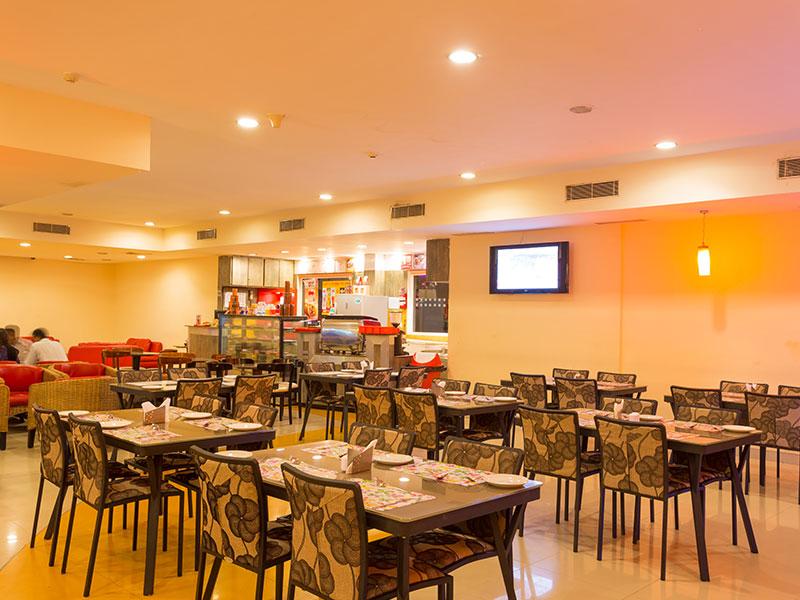 Restaurant in Ginger Pondicherry