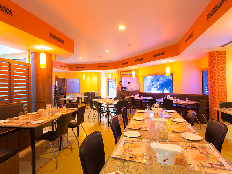 Restaurants at Ginger Bangalore Whitefield