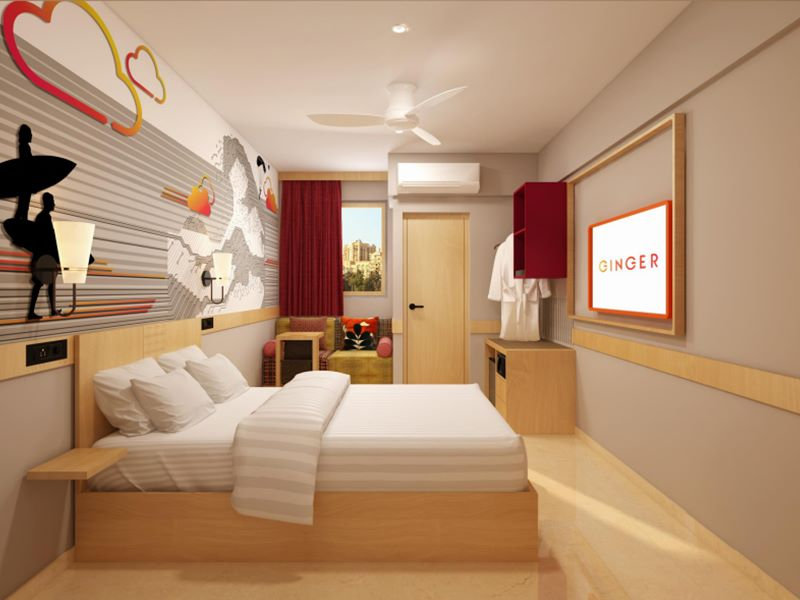 Standard Room at Ginger Bangalore Whitefield