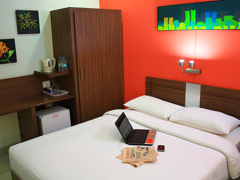 Standard Room at Ginger Bangalore IRR