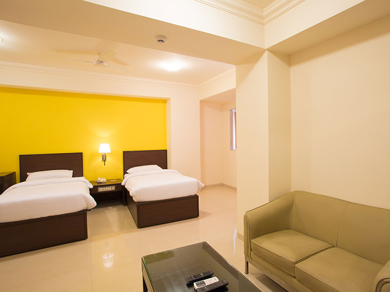 Superior Twin Room in Ginger Thane