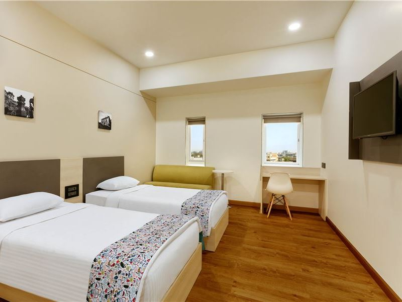 Twin Room at Ginger Hotels Aurangabad
