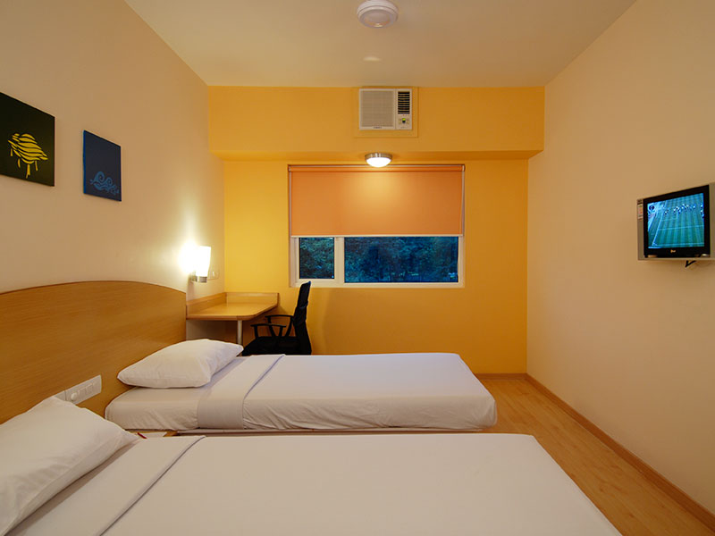 Twin Room at Ginger Bhubaneshwar