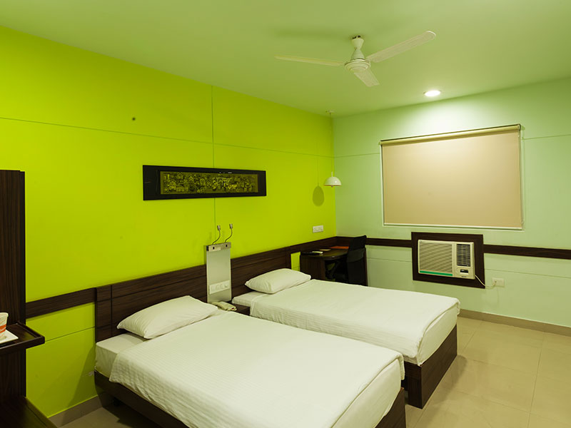 Twin Room at Ginger Jaipur