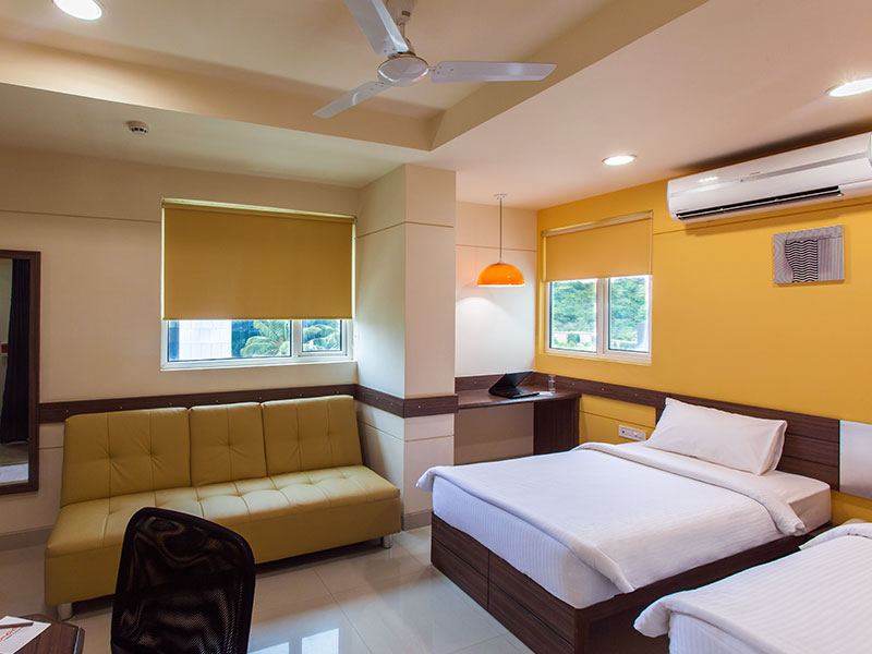 Twin Room in Ginger Bangalore IRR