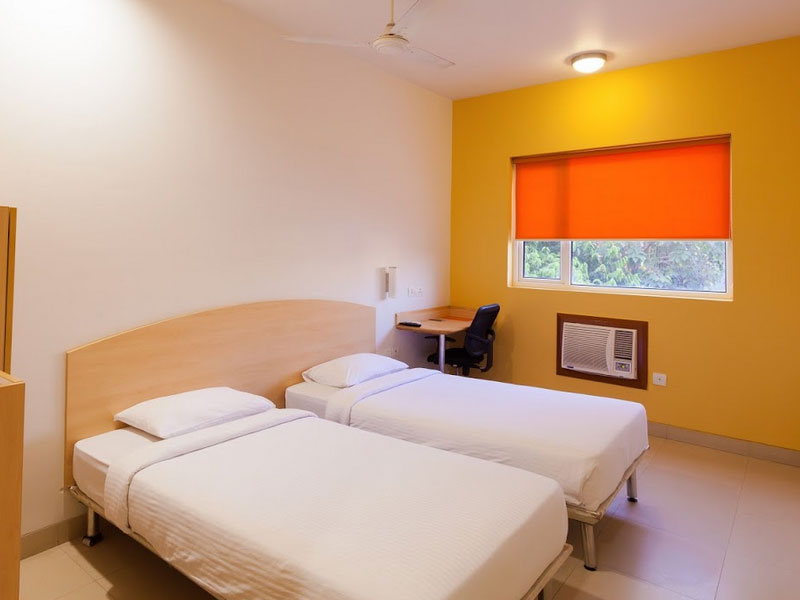 Twin Room in Ginger Baroda