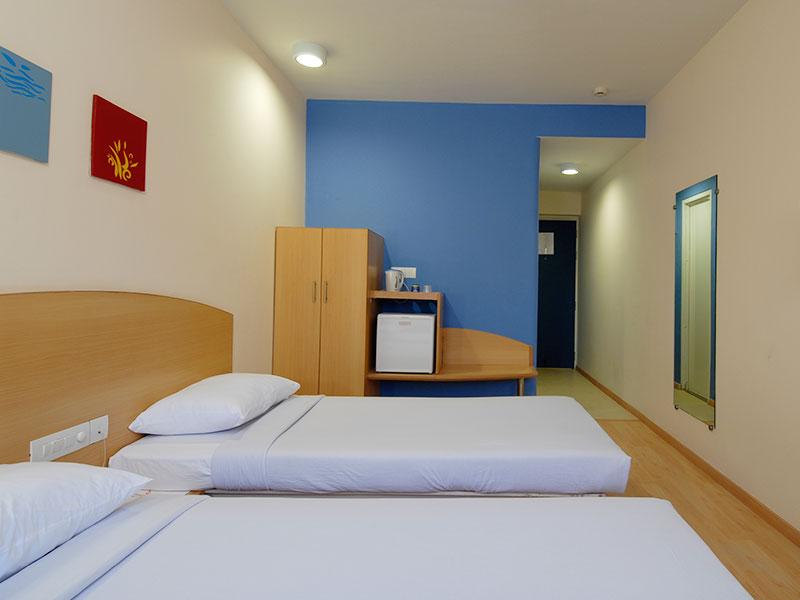 Twin Room in Ginger Guwahati
