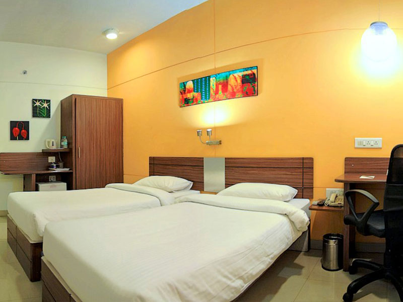 Twin Room in Ginger Pune Wakad