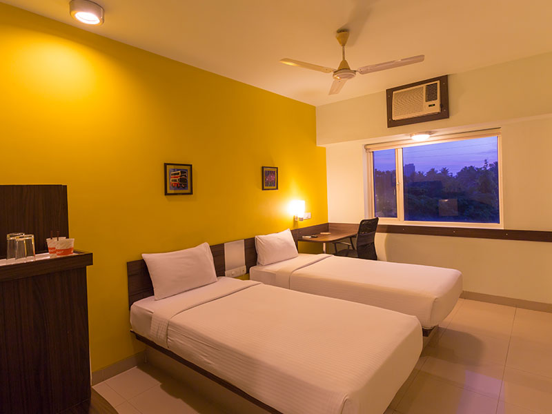 Twin Room of Ginger Trivandrum
