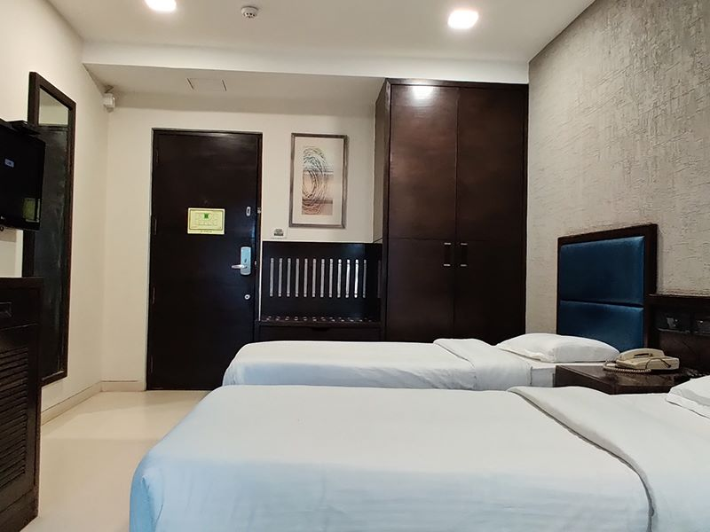 Twins Room at Ginger Ahmedabad (Satellite)