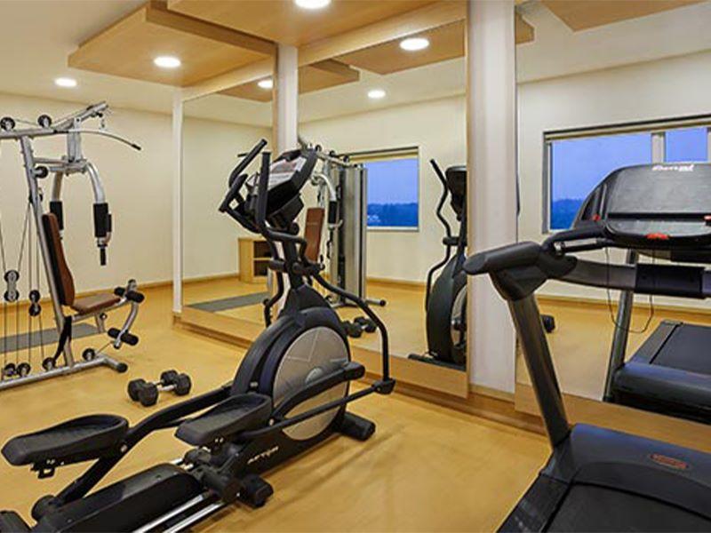 Gym at Ginger Vapi