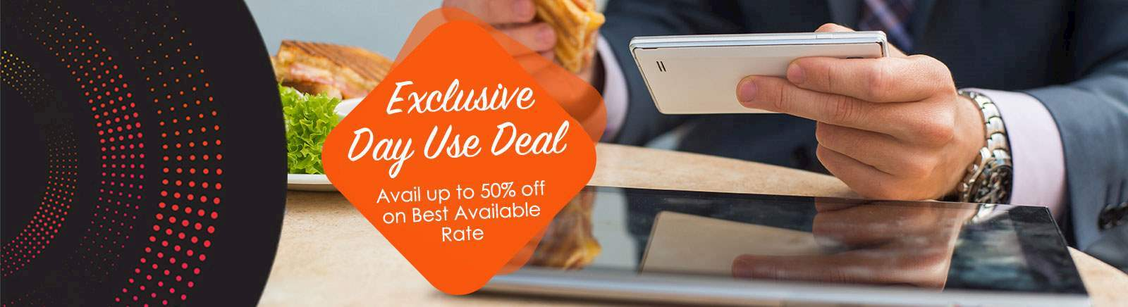 EXCLUSIVE DAY USE HOTEL DEAL