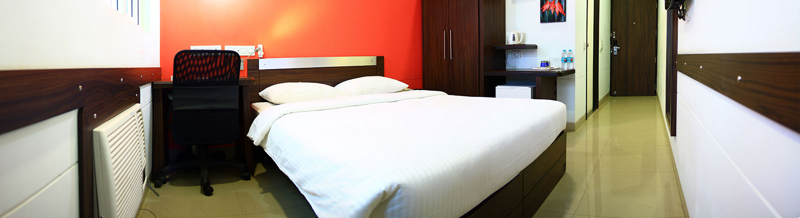 Ginger Manesar Hotel Rooms