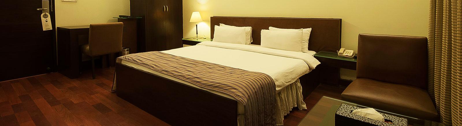 Room of Ginger Gurugram Hotel