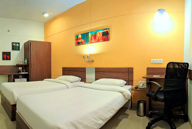 Hotel Rooms With Free Wifi In Wakad Pune Ginger Hotels